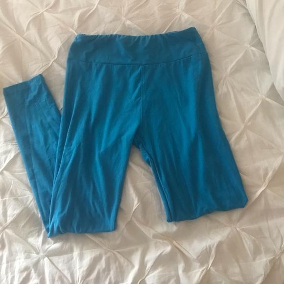 LuLaRoe Pants - LulaRoe leggings blue